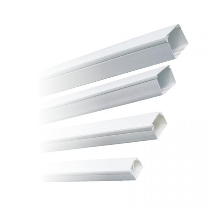 Canal cablu plastic 40x40 alb 0