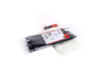 Cravata cablu 310X4.8 alb
